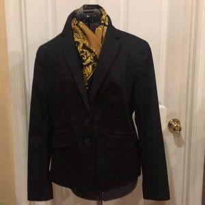 Black tailored jacket